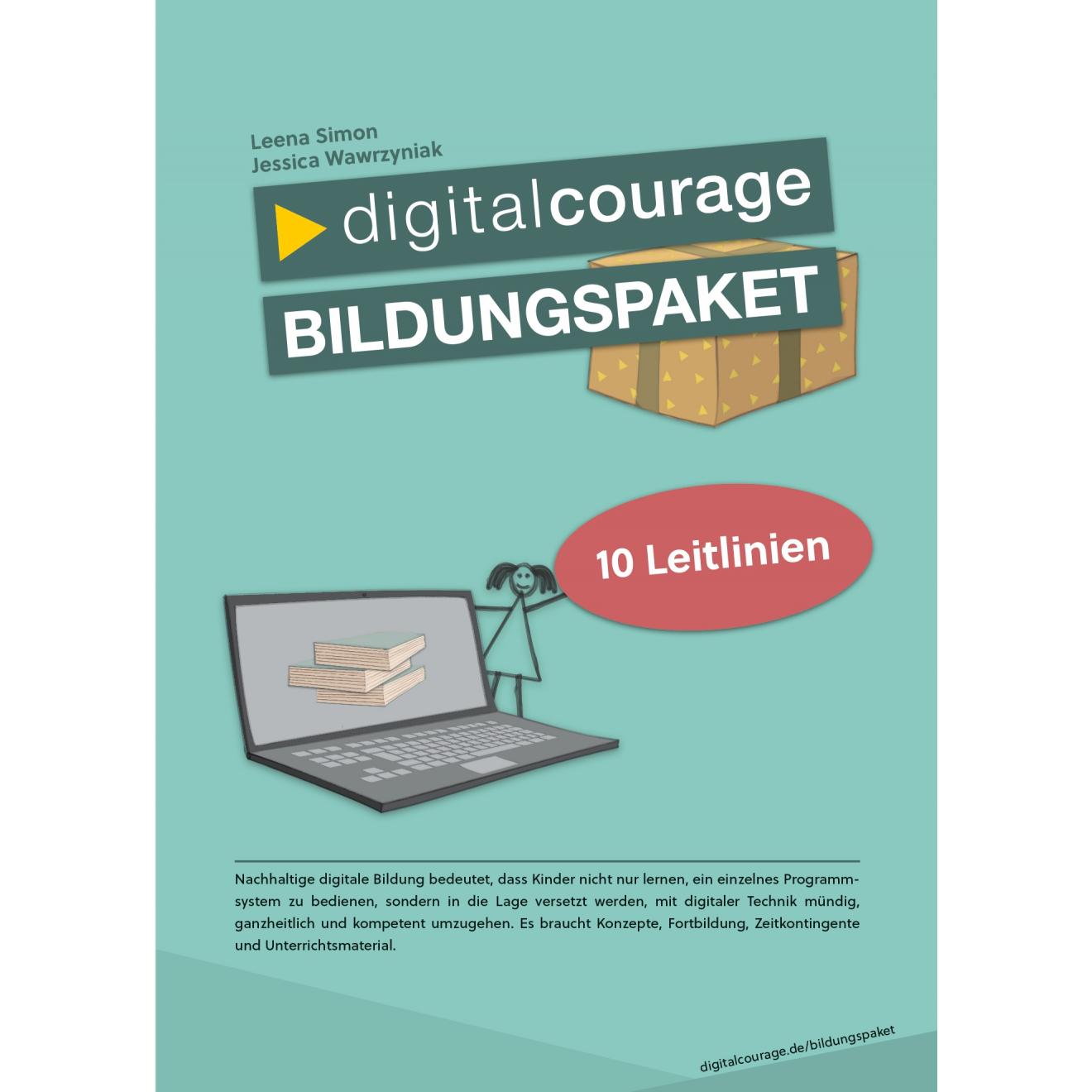 Vorderseite Digitalcourage Bildungspaket