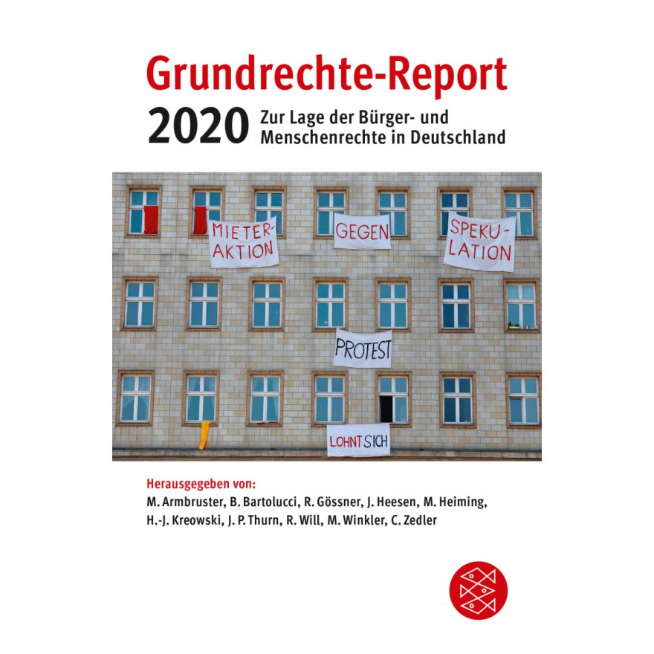 Digitalcourage Shop Buch Grundrechte Report 2020