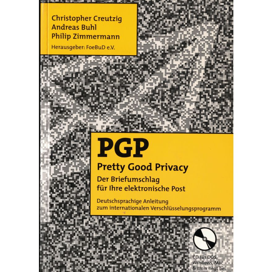 Titelbild PGP - Pretty Good Privacy