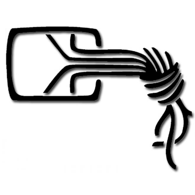 Klebelogo Kabelknoten Din A6