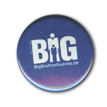 Button: BigBrotherAwards (dunkel)