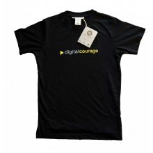 T-Shirt: Digitalcourage schwarz