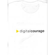 T-Shirt: Digitalcourage weiß